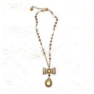 Betsy Johnson Rosary 📿 Necklace